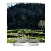 Peaceful West Virginia Valley Shower Curtain
