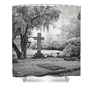 Peacful Eternity Shower Curtain