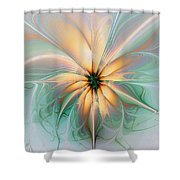 Peach Allure Shower Curtain