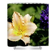 Peach Lily Shower Curtain