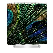Peacock Eyes Shower Curtain