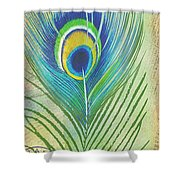 Peacock Feathers-jp3609 Shower Curtain