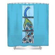 Peacock II Shower Curtain