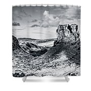 Peak Of Imagination Shower Curtain