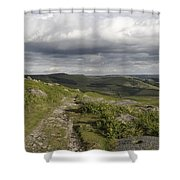 Peak Path Shower Curtain
