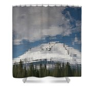 Peak Reflections Shower Curtain