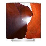 Peaking Sun Light Shower Curtain