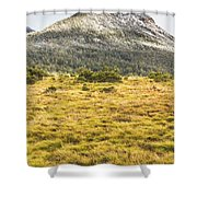 Peaks And Plateaus Shower Curtain