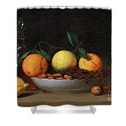 Peale Dessert 1814 Shower Curtain by Granger