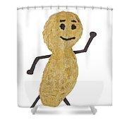 Peanut Figure 1 B Shower Curtain