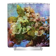 Pear Blossoms 8976 Idp_2 Shower Curtain