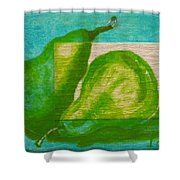 Pear Gem 2 Shower Curtain