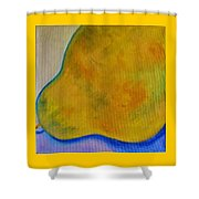 Pear Solo Shower Curtain