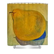 Pear Solo Two Shower Curtain
