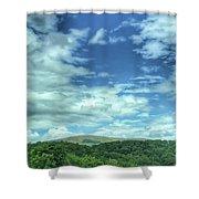 Pearisburg Virginia View Shower Curtain