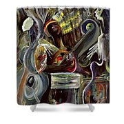 Pearl Jam Shower Curtain by Ikahl Beckford