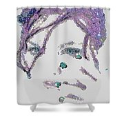 Pearlesqued Individual Shower Curtain