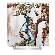 Pearlesqued She Shower Curtain