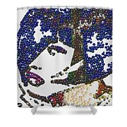 Pearlesqued Woman Shower Curtain
