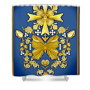 Pearls In Heaven Shower Curtain