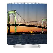Pearls In The Sky Shower Curtain