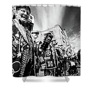 Pearly Kings And Queens Of London Hoxton Brick Lane Shower Curtain