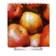Pears D'anjou Shower Curtain