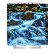 Pearsons Falls On Colt Creek Shower Curtain