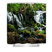 Pearsony Falls Shower Curtain