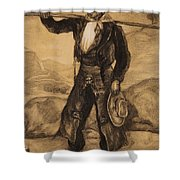 Peasant Labourers Shower Curtain