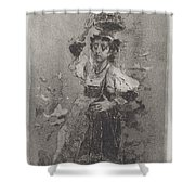 Peasant Woman Of The Campagna [ciociara] Shower Curtain