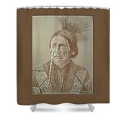 Peatwy Tuck-sac And Fox Shower Curtain