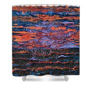 Pebeo After The Sunset Shower Curtain