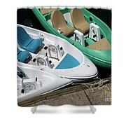 Pedal Boats Shower Curtain