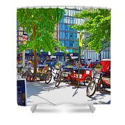 Pedal Taxis 1 Shower Curtain