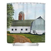Pedersen Barn Shower Curtain