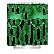 Peek-a-boo V3 Shower Curtain