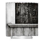 Peeling Shower Curtain