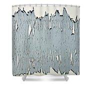 Peeling Paint 2 Shower Curtain