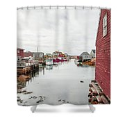 Peggys Cove 2 Shower Curtain