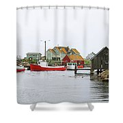 Peggys Cove 6107 Shower Curtain