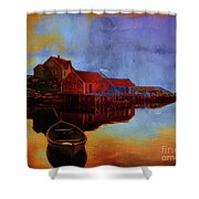 Peggy's Cove Shower Curtain