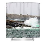 Peggys Cove Lighthouse 6127 Shower Curtain