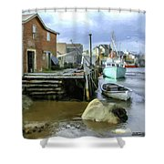 Peggys Cove Ns 001 Shower Curtain