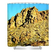Peggy's Mountain Shower Curtain
