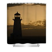 Peggy's Sunset Shower Curtain