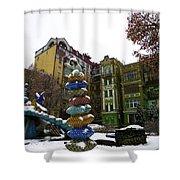 Peizazhna Alley Shower Curtain
