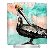 Pelican 3 Shower Curtain