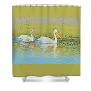 Pelican Plus One Shower Curtain