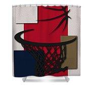 Pelicans Hoop Shower Curtain